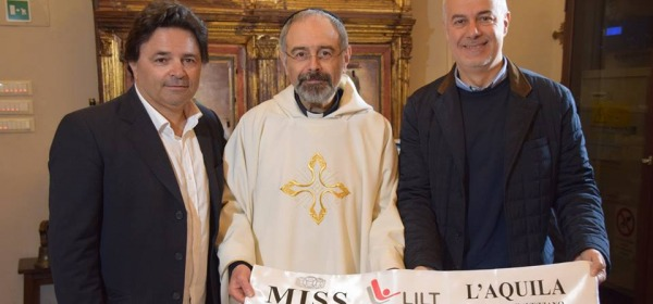 benedizione fascia Miss Lilt L'Aquila 2015