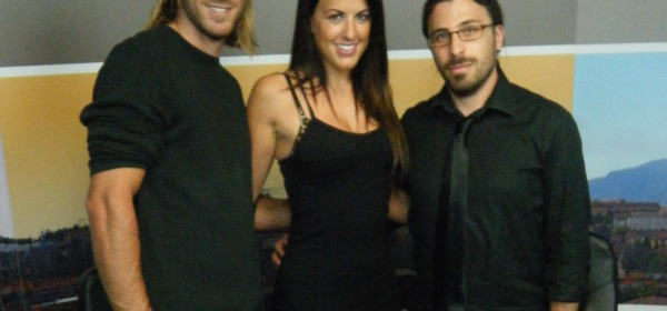 Kevin Gleizes, Claudia Romani e Luca Di Giacomantonio